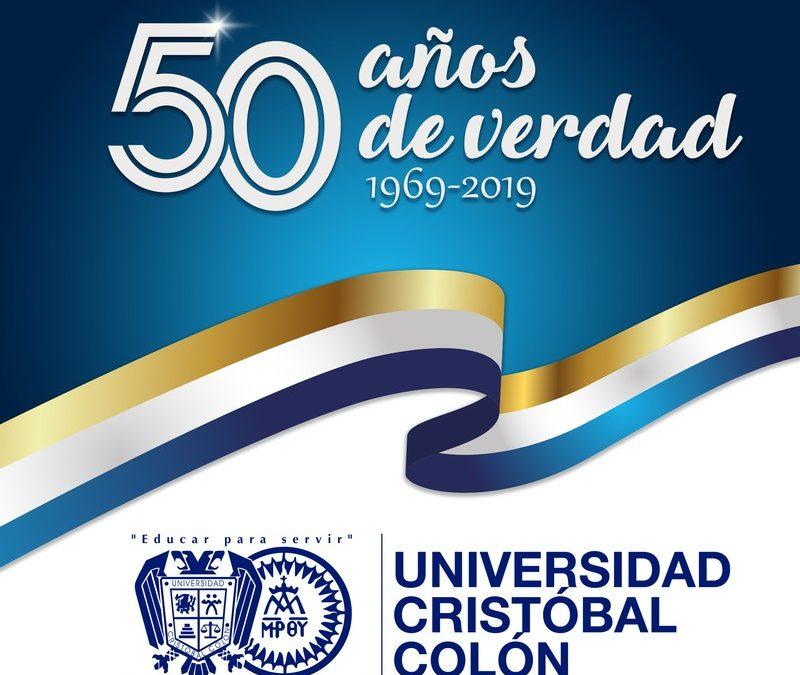50° Aniversario de la Fundación de la Universidad Cristóbal Colón