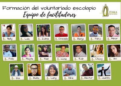 Equipo voluntariado