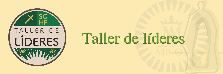 Banner Taller Lideres