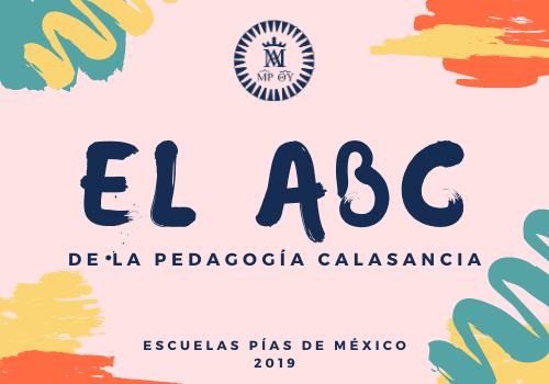 El ABC de la pedagogia calasancia